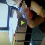 HN Video: Shocking! Girl caught doing the nasty in class