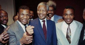 I never become the heavy weight boxing champion of the world says Nelson Mandela
