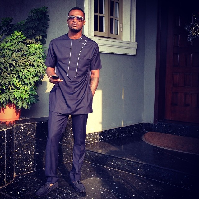 PSquare Peter Okoye's shares new pics