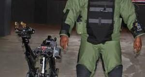 Photos: U.S donates high tech bomb disposal robots/equipment to Nigerian police