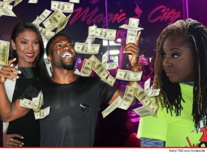 Kevin Hart & Ex-Wife Run Into Each Other After Engagement At Strip Club!