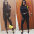 Fans reaction over Actress Ini Edo's  Weight Loss