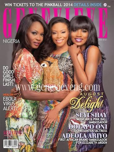 Seyi, Toke, Zainab and Others Cover Genevieve and Thisday Magazines