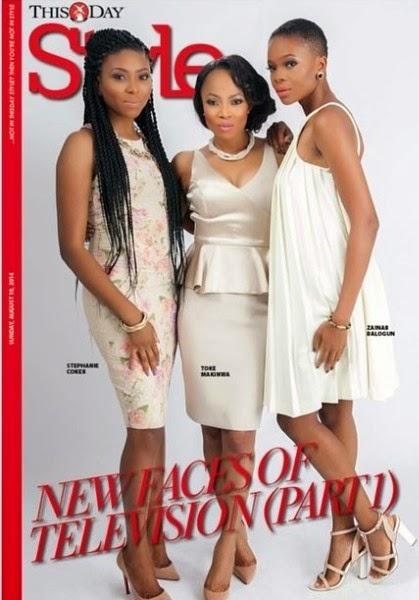Seyi, Dolapo, Adeola, Stephanie, Toke & Zainab cover Genevieve and Thisday mags