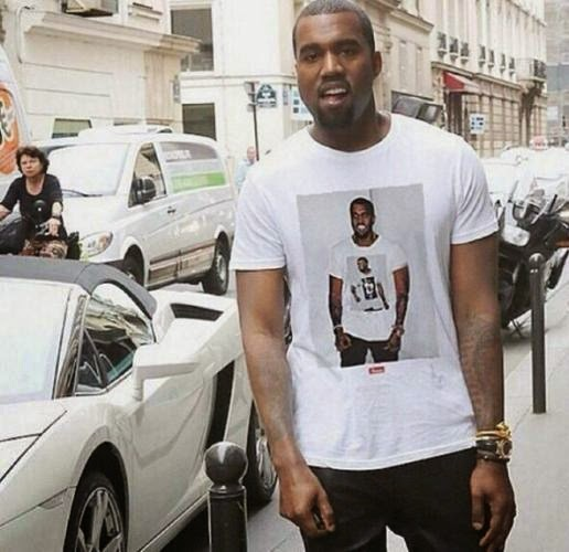 Kanye West Wears Shirt Of Kanye West Wearing A Shirt Of Kanye West