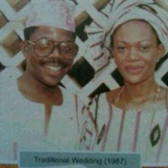 LOL! Check Out Bola Tinubu & Wife's Throwback Photo