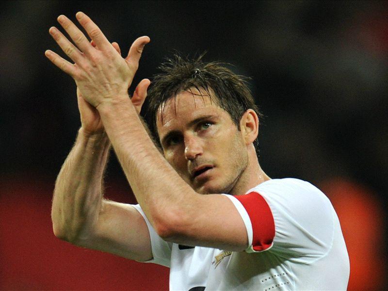 Frank Lampard retires from international football