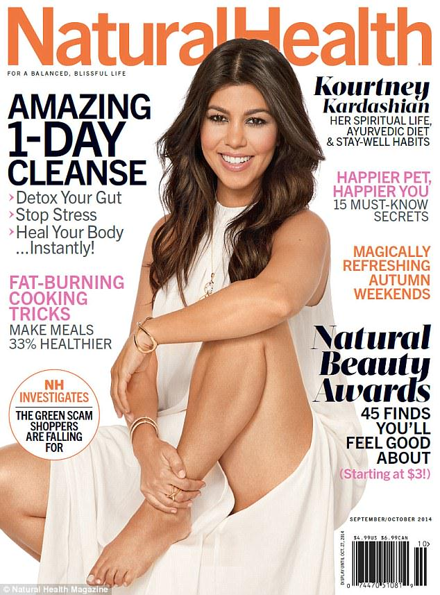 Pregnant Kourtney Kardashian looks gorgeous in new magazine photoshoot