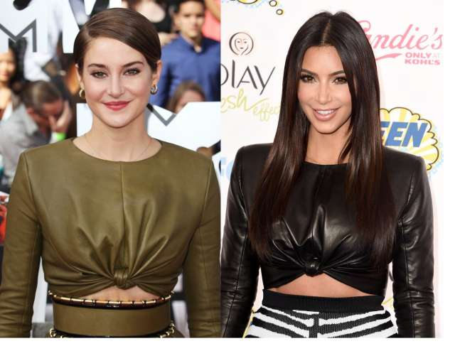 Who Wore It Better? Kim Kardashian Vs Shailene Woodley
