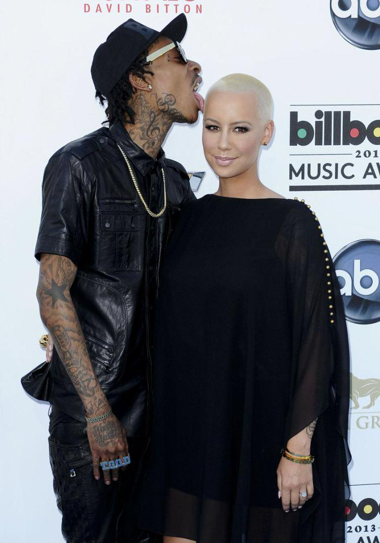 Is This The End Of Amber Rose & Wiz Khalifa's Love Story?