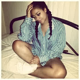 Nadia Buari sick of Ebola