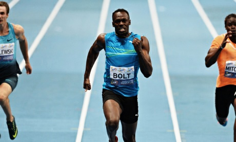 Usain Bolt Breaks World Indoor Record For 100m