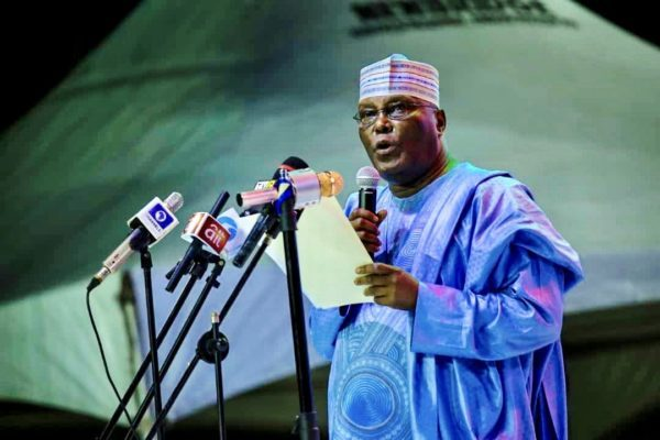 BREAKING: Atiku Abubakar emerges PDP presidential candidate to face Buhari In 2019 election