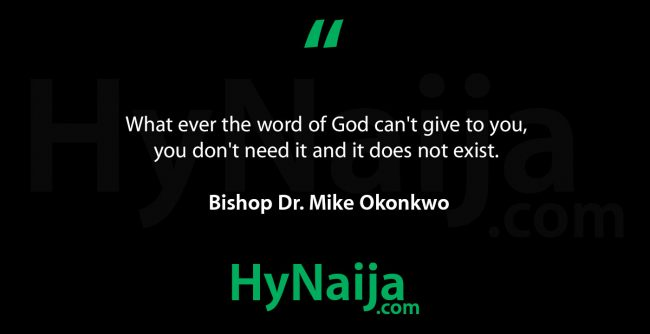 Bishop Dr. Mike Okonkwo