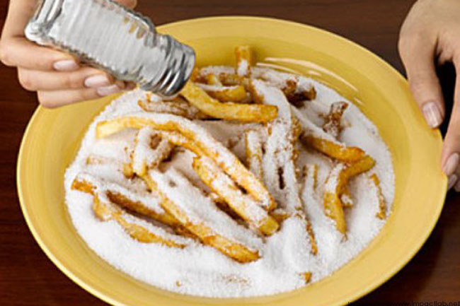 Cutting Down on the Amount of Salt You Eat is Not a Bad Idea