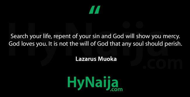 Lazarus Muoka Biography (2018)