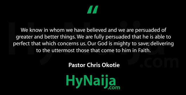 Pastor Chris Okotie