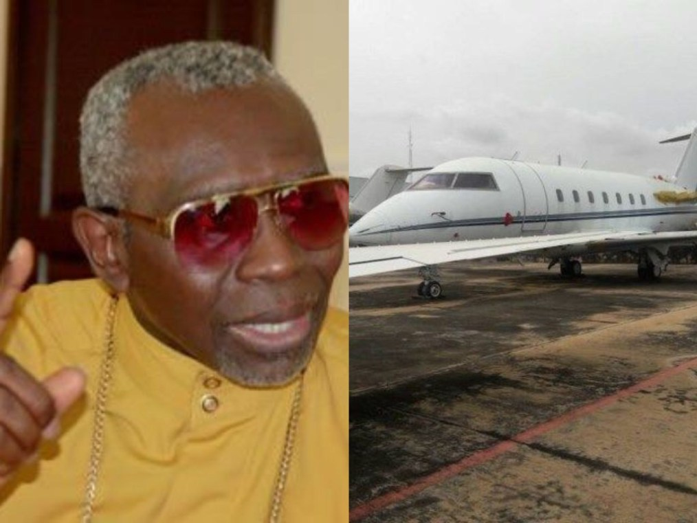 ayo oritsejafor private jet