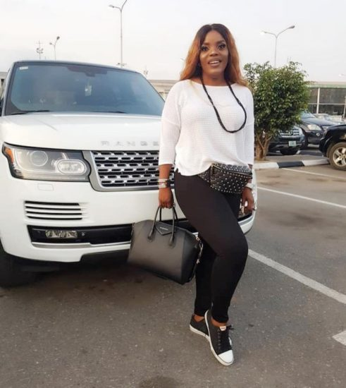 Empress Njamah Boastfully Display her Range Rover after Timaya Saga