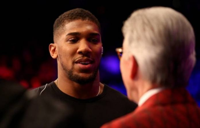 I'll fight Dillian Whyte if Deontay Wilder is not ready for me – Anthony Joshua