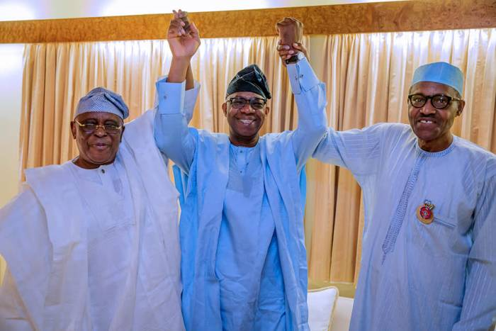 Ogun APC governorship candidate visits Muhammadu Buhari