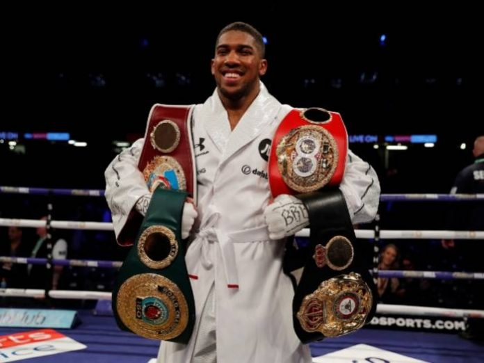 Why I did not Fight Deontay Wilder This Year – Anthony Joshua