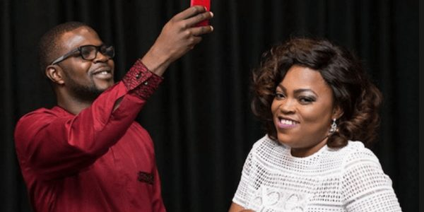 Funke Akindele and Hubby JJC Welcome Twins