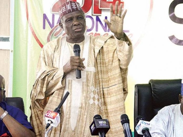 INEC releases nomination forms to Jerry Gana