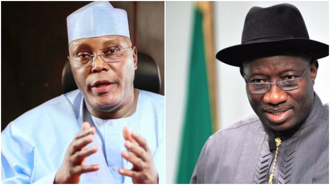 "Nigerian Election 2019: ""Vote Atiku so we can all have food to eat"" – Goodluck Jonathan"
