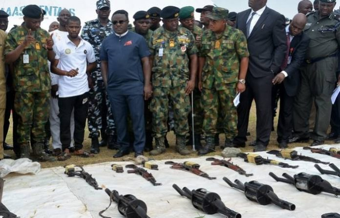 Ayade grants amnesty to militants in Cross River
