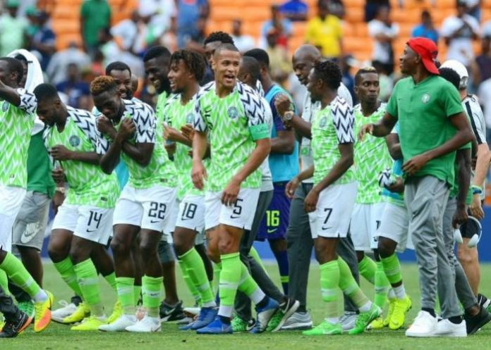 Nigeria retain 44th position in latest FIFA ranking