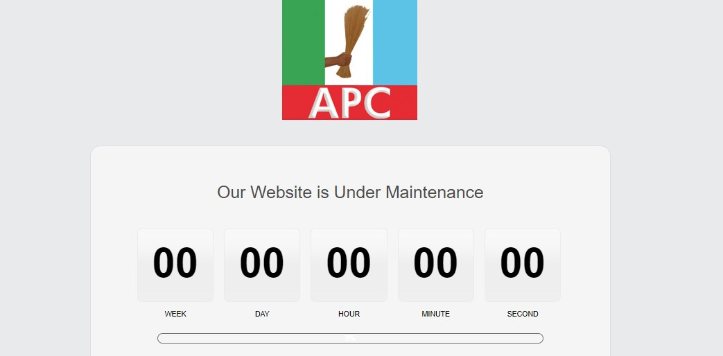 Our Official Website Has Been Hacked – APC Alleges