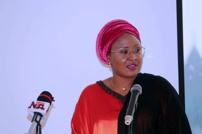 I haven't issued any statement on Justice Onnoghen's suspension – Aisha Buhari