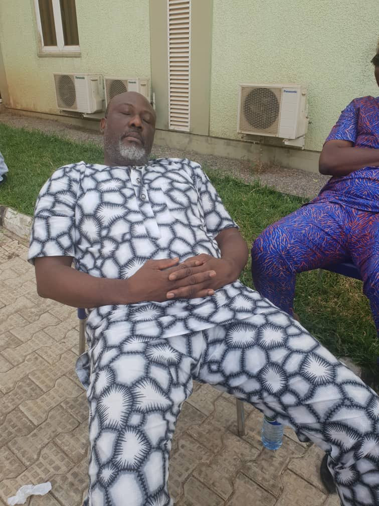 Dino Melaye Moved To SSS Medical Facility (Photos)