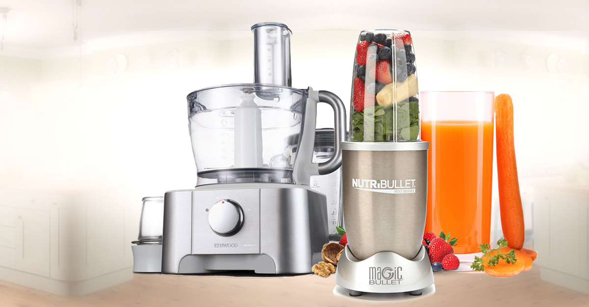 5 Appliances To Help You Lose Weight Without Hitting The Gym