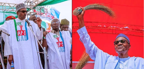 President Buhari urges Nigerians not to relent and continue farming
