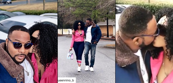 Whaoo!! Actor Ninalowo Bolanle Shares Loveup Pics With His Wife To Celebrate New Year