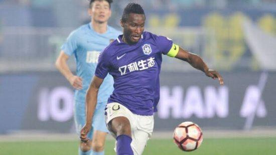 Mikel Obi Leave Tianjin Teda, Chinese Club