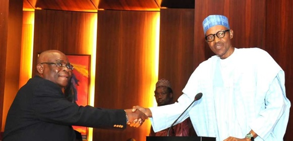 Why i suspended Justice Walter Onnoghen – President Buhari