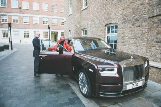 DJ Cuppy Got Delivery Of A New Custom-made Rolls Royce