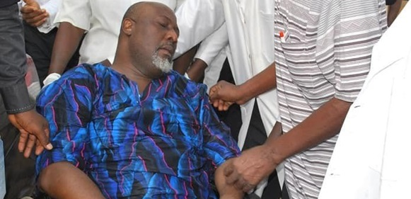 CLOSE UP: How Dino Melaye Spent 124 Days In Police Custody In 2018