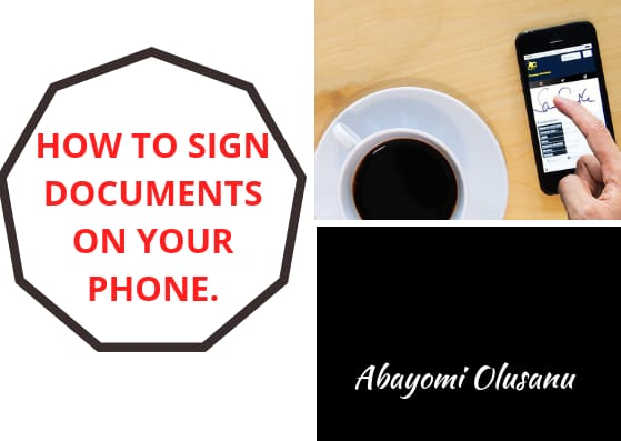 How To Sign Documents on Your Phone