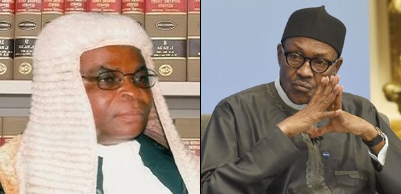 Buhari govt orders CJN Onnoghen to vacate office, to arraign him over asset declaration