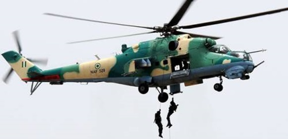 Air Force Helicopter Crashes During Anti-Boko Haram Operations In Borno