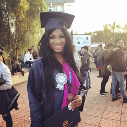 Actress Omotola's 1st Daughter Princess Graduates From Cyprus University