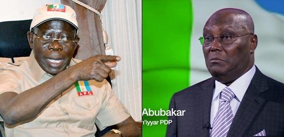 Atiku will sell Nigeria if elected president – Adams Oshiomhole tells Nigerians