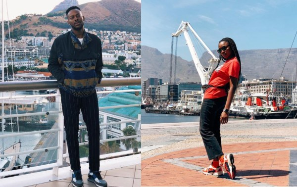 Simi and Adekunle Gold In Cape Town For Honeymoon (Photos)