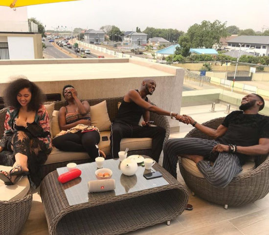 2face Idibia and Dbanj's New Friendship Is Golden (Photos)
