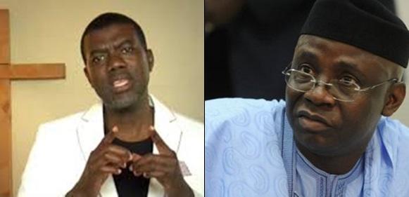 Reno Omokri Slams Tunde Bakare Over Speech On Buhari And Jonathan Government