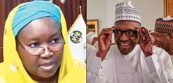 Aminat Zakari And Buhari don't share any family relationship – Presidency